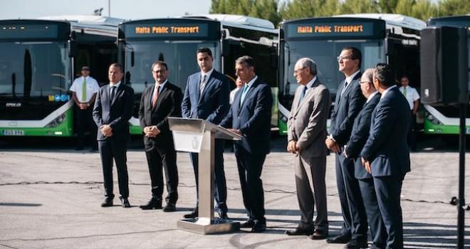 Otokar, Malta'ya 40 adet KENT otobüs ihraç etti