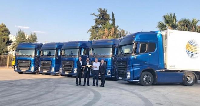 Ocak Trans filosuna 12 adet Ford Trucks F-MAX kattı
