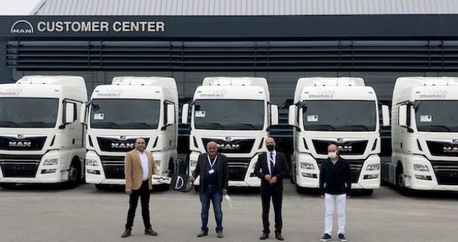 Ankara Nakliyat filosuna 7 adet MAN TGX kattı