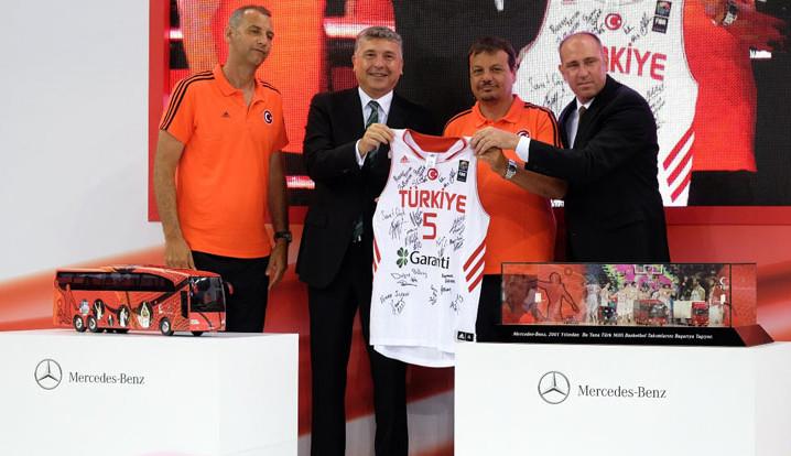 Mercedes-Benz Türk, Türk basketboluna desteğini 2018'e kadar uzattı