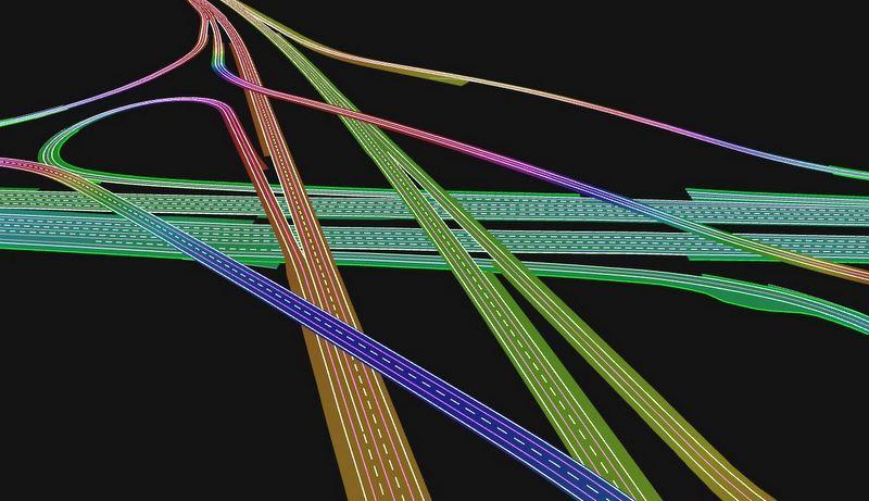 Sürücüsüz araçlar için 24 bin kilometrelik 3D özellikli yol haritası yaptı