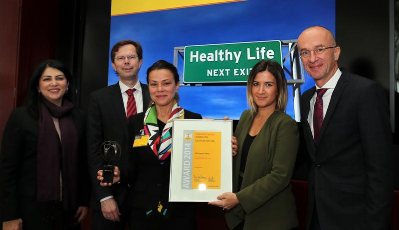 DHL Express Türkiye'ye Kurumsal Sağlık Ödülü