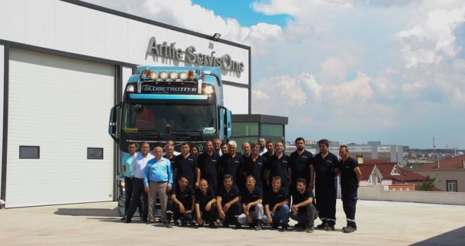 Volvo Trucks yetkili servisi Artıfe ServisOne Şekerpınar'da hizmet vermeye başladı
