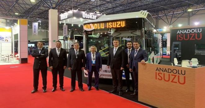 Anadolu Isuzu, Kazakistan'daki Busworld Central Asia Fuarı'nda yerini aldı