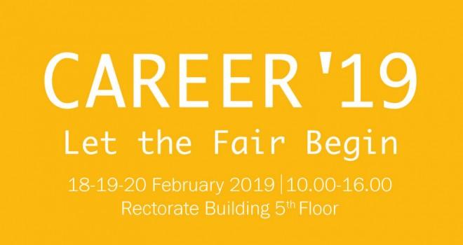 Yeditepe Üniversitesi Lojistik Kulübü'nün düzenlediği Career Fuarı 18-20 Şubat'ta yapılacak