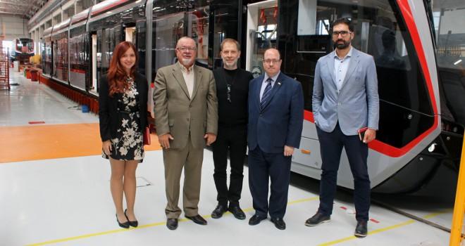 Şili ve Kolombiya Büyükelçileri Bozankaya'yı ziyaret etti
