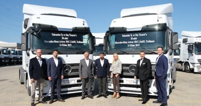 Toksuzlar Transport'a TruckStore'dan 30 adet Actros