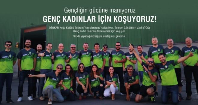 Otokar çalışanları genç kadınları desteklemek için koşacak