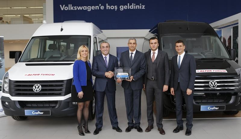 50 adet Crafter aldı, filosundaki Volkswagen araç sayısını 300'e yükseltti
