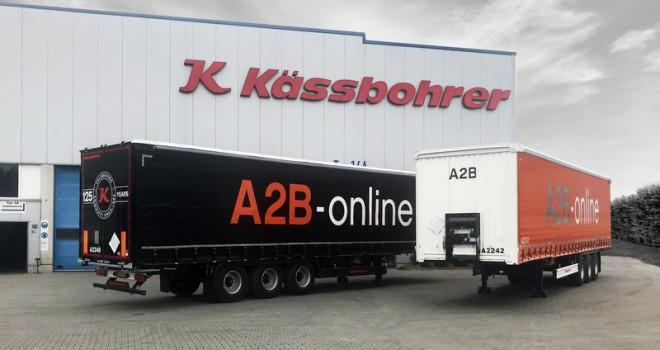A2B-online, 50 adet Kässbohrer Tenteli Perdeli treyler aldı