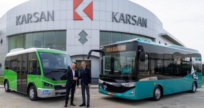 Karsan'ın Almanya bayiliği için Quantron AG anlaşma imzaladı