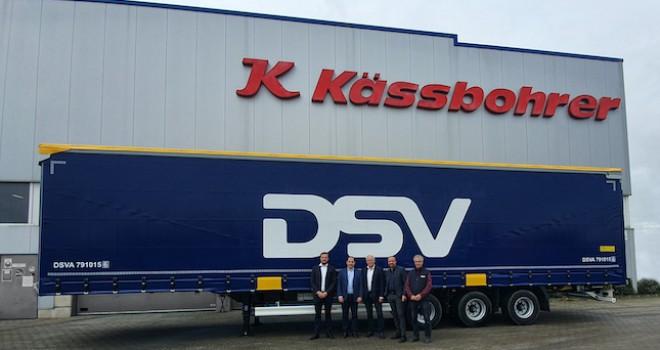 Avrupa Lojistik Devi DSV Tırsan Dedi