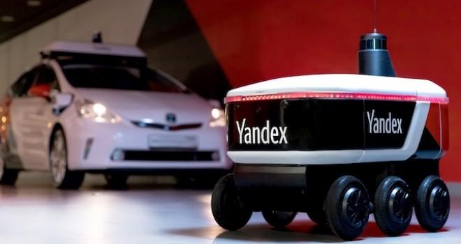 Yandex'in teslimat robotu test sürüşlerine başladı
