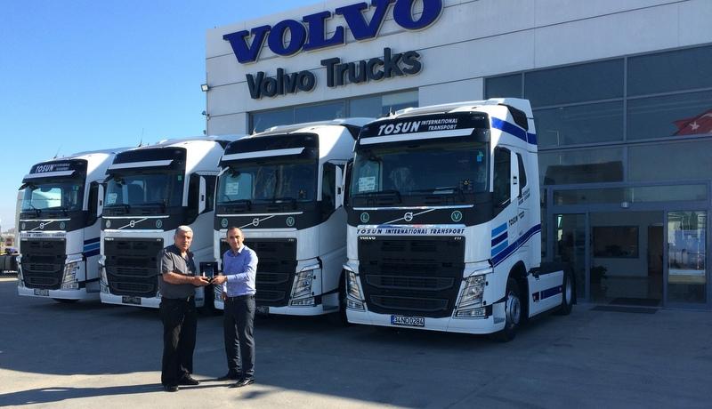 Filosuna kattığı yeni Volvo çekiciler ile araç sayısını 20'ye yükseltti