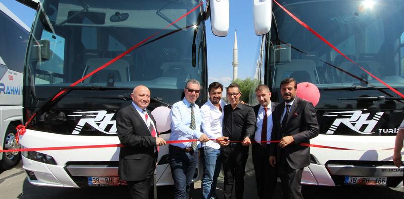 8 adet 2+1 VIP Tourliner alarak otobüs sektörüne girdi