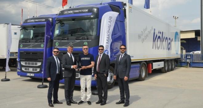 Köknar Uluslararası Taşımacılık'a 10 adet Volvo Trucks