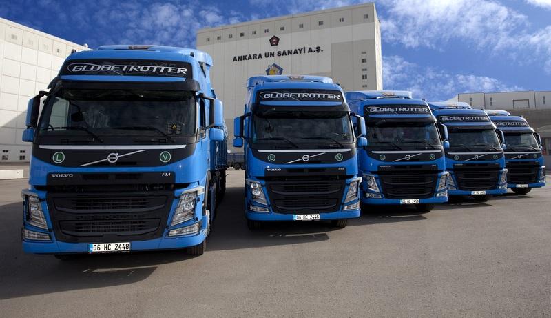 İlhan Cavcav, 5 adet Volvo Trucks aldı