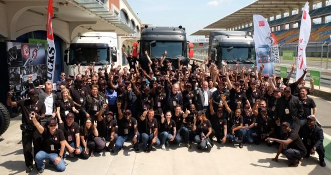 Renault Trucks, 500 lojistik profesyonelini İstanbul Park Formula'de ağırladı