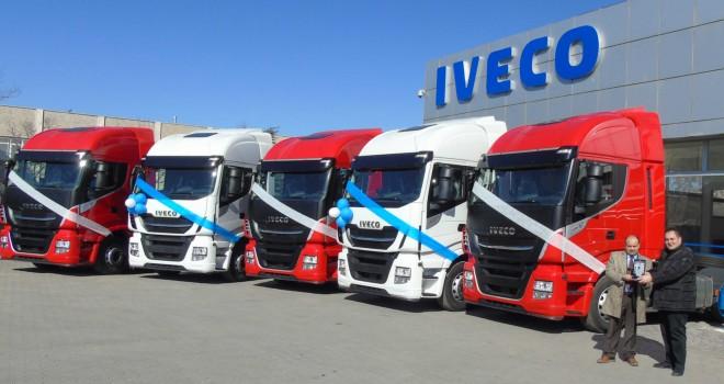 Iveco'dan Özbabacan Uluslararası Nakliyat'a 10 adet Stralis