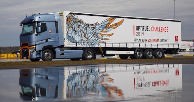 Optifuel Challenge sürüş yarışmasında birinciye Renault Trucks T High 480 çekici verilecek