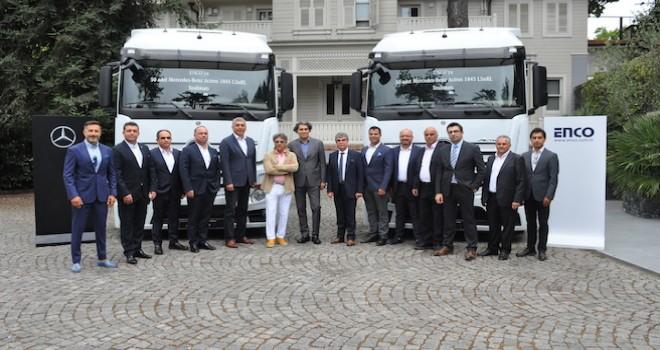 Mercedes-Benz Türk'ten ENCO'ya 50 adet Actros
