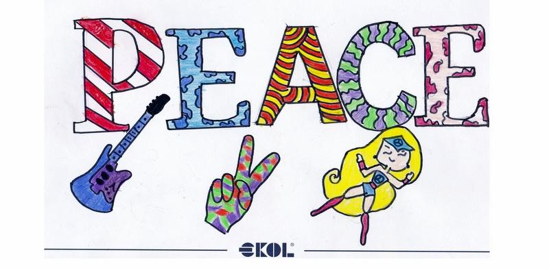 856 Ekollü Çocuk Barışın Resmini Çizdiler!