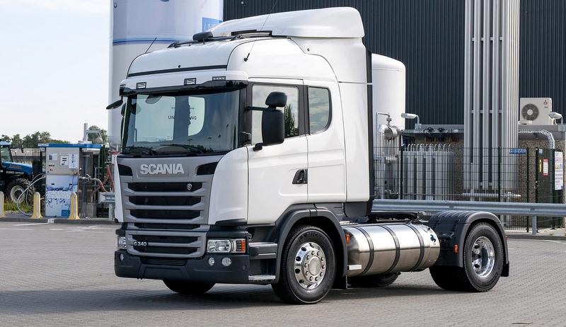 Scania bir tank LNG ile 1000 kilometre yol yaptı