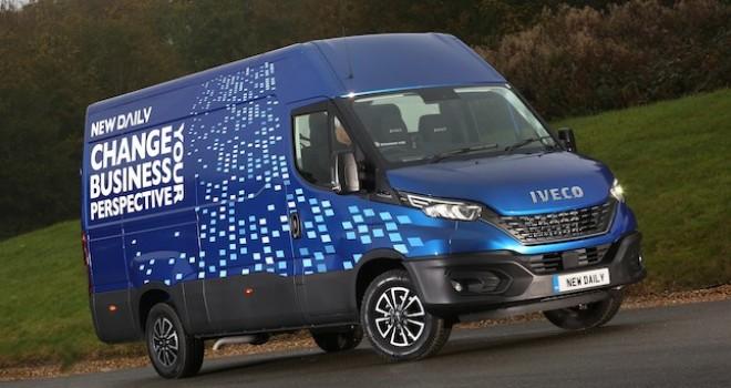 IVECO Daily'ye İngiltere'den 2020 Ticari Van Sürücüleri Ödülü