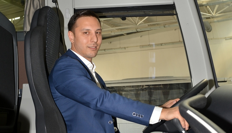 Filosuna 5 adet Travego S, 5 adet de Setra ComfortClass 515 HD kattı
