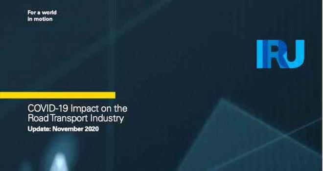 IRU: COVID-19'dan dolayı 2020'de karayolu taşımacılığındaki gelir kaybının 1 trilyon doları aşacağı tahmin ediliyor