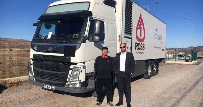 Aviagen Anadolu canlı civciv taşımacılığı için Volvo Trucks'ı tercih etti