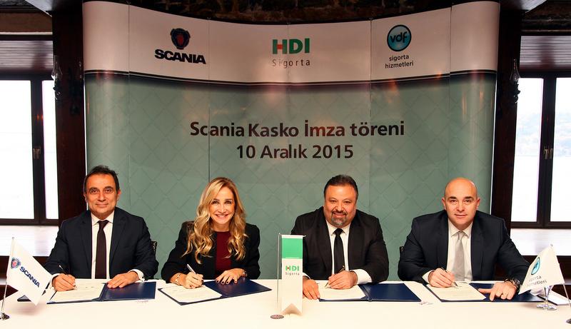 Scania, HDI Sigorta ve VDF Sigorta ile işbirliği yaparak tek seferde 4 yıla kadar uzun süreli kasko hizmeti sunacak