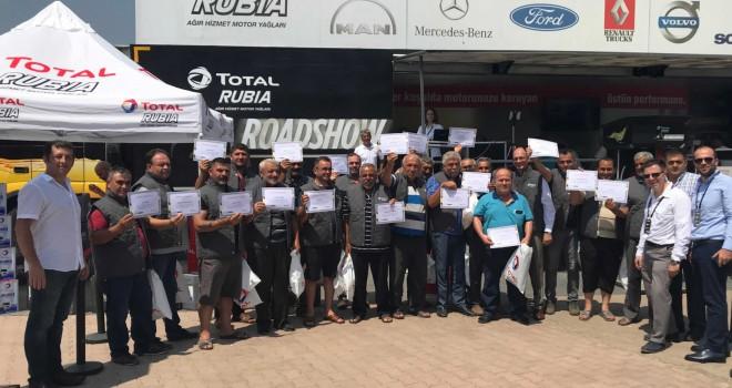 TOTAL, 21 ilde düzenlediği etkinliklerde uzun yol sürücüleri ile buluştu