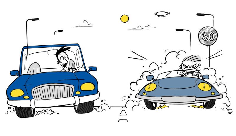 Trafikte 7 farklı sürücü tipi var… Peki siz hangi tipsiniz?
