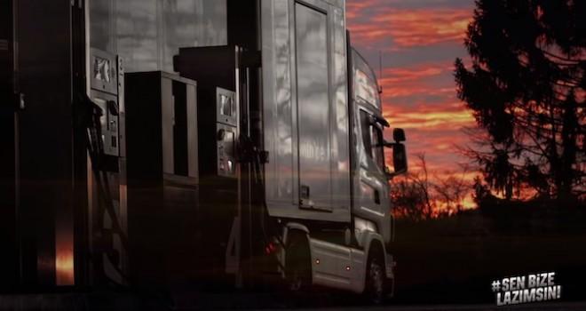 Castrol'den koronavirüs günlerinde yük taşıyan kamyon sürücülerine teşekkür filmi