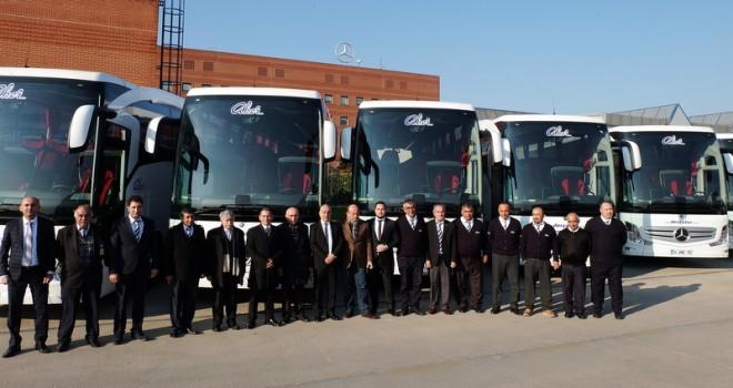 10 adet Travego aldı, otobüs sayısını 130'un üstüne çıkarttı
