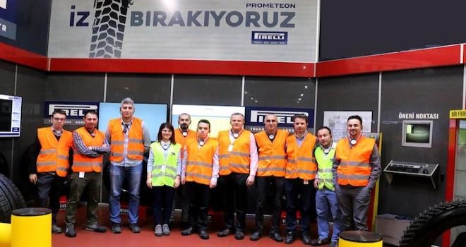 Prometeon Türkiye'den Ford Trucks Ar-Ge ve Satınalma birimine lastik eğitimi