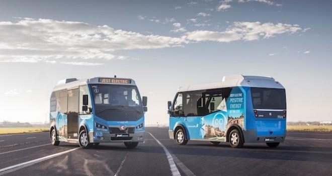 Karsan Romanya'nın Suceava Şehrindeki 10 Adetlik Elektrikli Minibüs İhalesini Kazandı