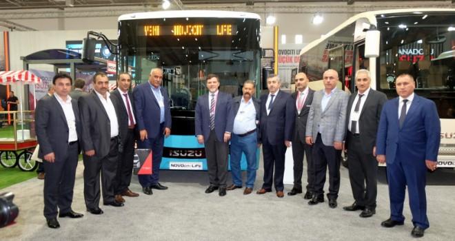 Anadolu Isuzu 8 metrelik yeni alçak tabanlı Novociti Life otobüsünü tanıttı