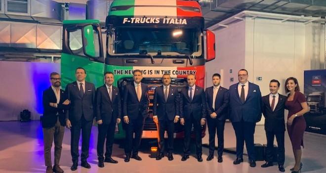 Ford Trucks, Avrupa'da İtalya ile büyüme devam ediyor