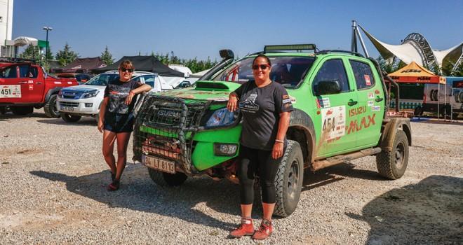 Anadolu Isuzu'nun kadın pilotları Transanatolia yarışını tamamladı