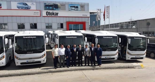 Otokar 4 firmaya 25 adet otobüs teslim etti