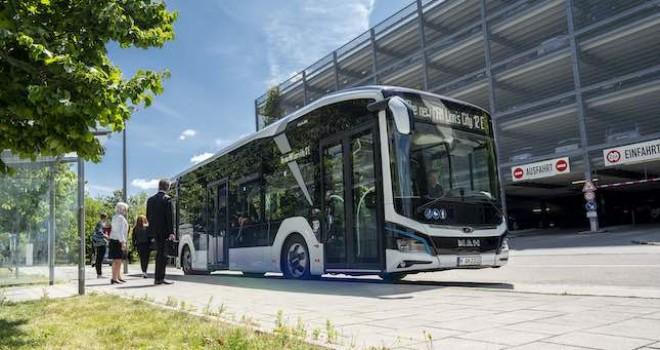MAN'ın 50 yıllık elektrikli otobüs tecrübesine Automotive Brand Contest Tasarım Ödülü