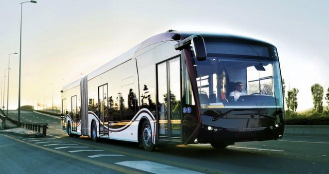 Yerli elektrikli otobüs SILEO Elazığ yollarına çıktı