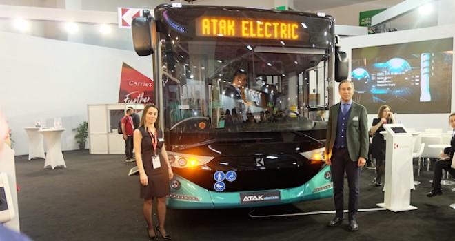 Karsan Atak Electric ve Jest Electric İstanbul'da Görücüye Çıktı