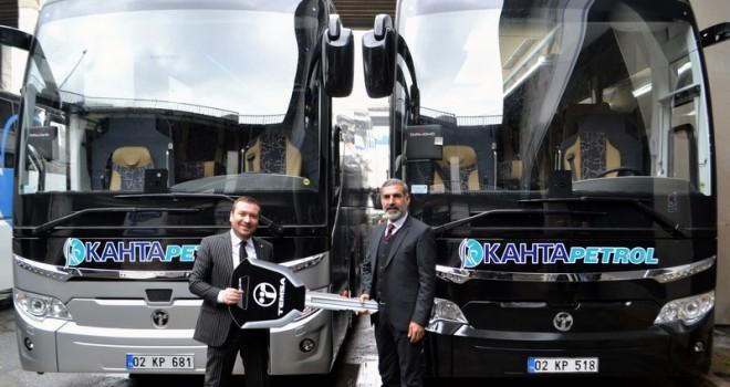 Adıyaman Kahta Petrol Turizm filosunu TEMSA otobüslerle güçlendirdi
