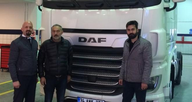 DAF Glokal'den Metroport'aXF 480 MD Çekici