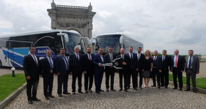 Dev filosuna 26 adet Safir Plus 2+1 VIP otobüs kattı