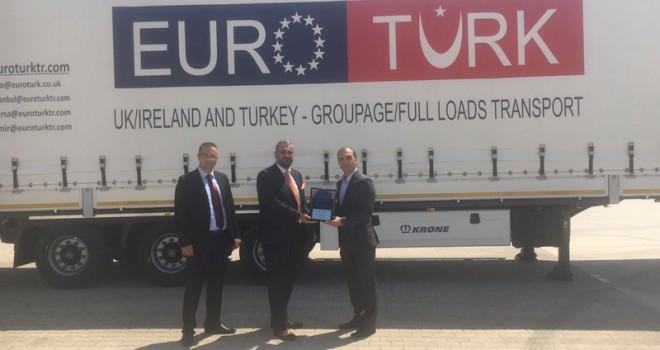 Krone'den EuroTurk Lojistik 10, Transtur'a 5 adet Mega Liner