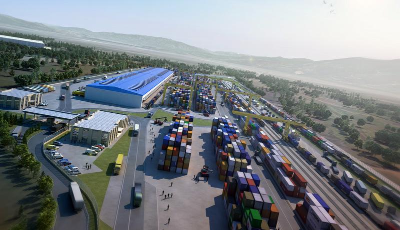 Avrupa'nın en büyüğü ile ortak oldu, Kartepe'de 200 bin metrekarelik intermodal lojistik merkez kuracak